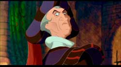 Claude Frollo in Disney's The Hunchback of Notre Dame