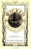 Gregory Maguire's Novel Wicked, the First Cover