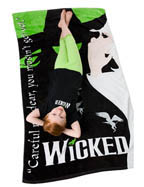 Wicked Beach Towel
