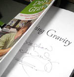 "Stephen Schwartz autographed book ""Defying Gravity"""