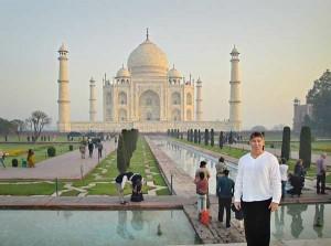 Composer-lyricist Stephen Schwartz Taj Mahal