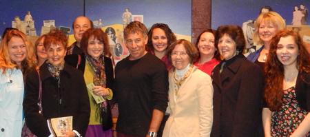 Stephen Schwartz and fans October 2013 Snapshots