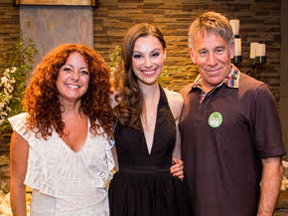 Kelli Rabke, Lindsay Maron, and Stephen Schwartz at Children of Eden Jr 2015