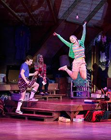 snapshots at Village Theatre (leap) - Mark Kitaoka photographer