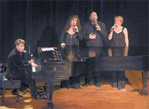 Stephen Schwartz and Friends in concert - Photo by Maryann Lopinto