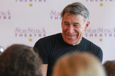 Composer Stephen Schwartz meeting with youth at StarStruck